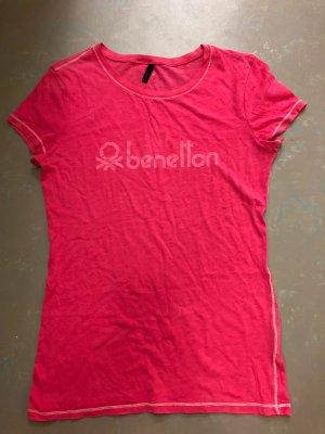 pinkes Tshirt von Benetton, Gr. S