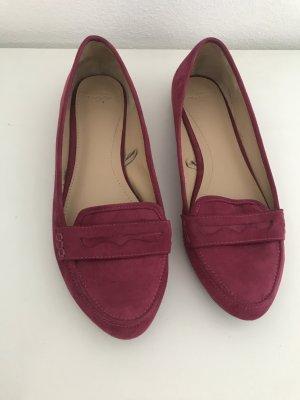 Pinkfarbene Loafer