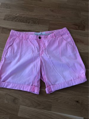 H&M L.O.G.G. Skorts neon pink