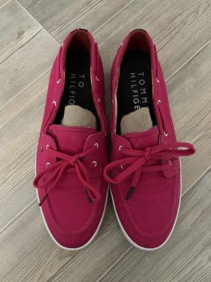 Pinkfarbene Slipper von Tommy Hilfiger Größe 38