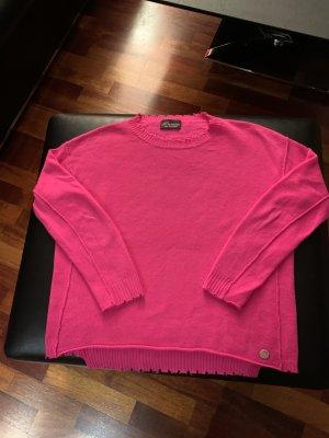Princess goes Hollywood Wełniany sweter różowy