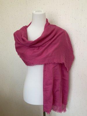 Fraas Bufanda de flecos rosa-rosa modal