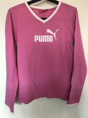 Pinkfarbenes Langarm-Shirt von PUMA