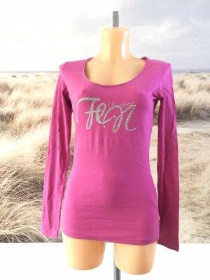 Pinkfarbenes Langarmshirt * Größe L * 38/40 * Neu mit Etikett