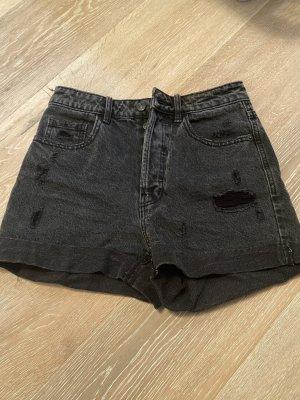 Pinkie Jeansshorts schwarz/ Dunkelgrau gr. 36(s)