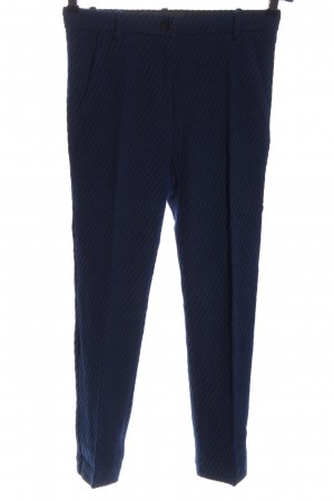 Pinko 7/8 Length Trousers blue-black striped pattern business style