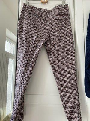 Pinko Pantalon en laine rouge carmin-violet foncé