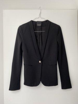 Pinko Klassischer Blazer noir polyester