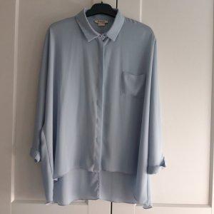 Pinko Bluzka oversize szary niebieski-błękitny