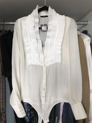 Pinko Bodysuit Blouse natural white