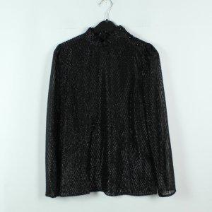 Pinko Bluse Gr. 34 schwarz transparent (20/02/300*)