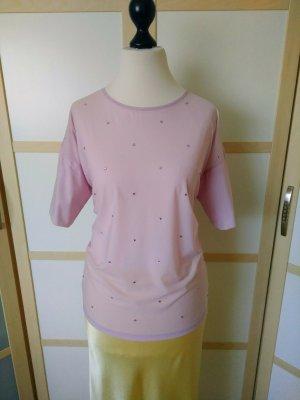 Pinko Bluzka z krótkim rękawem jasny różowy Poliester