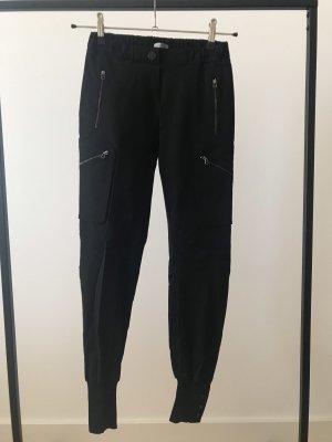 Pinko Cargohose Hose Taschen 34 schwarz