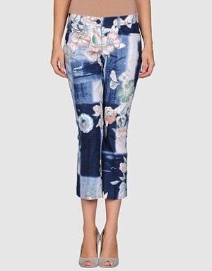 Pinko Pantalone a 7/8 multicolore Cotone
