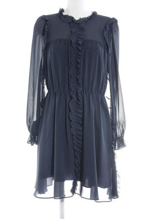 Pinko Szyfonowa sukienka niebieski W stylu casual