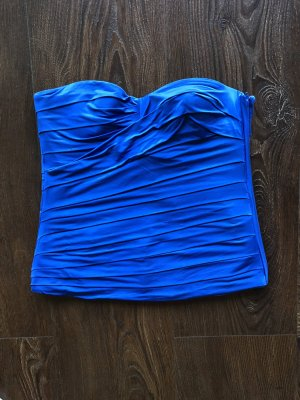 Pinko Haut type corsage bleu viscose