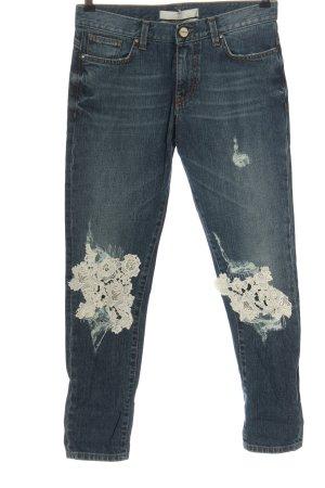 Pinko Jeansy z wysokim stanem niebieski W stylu casual