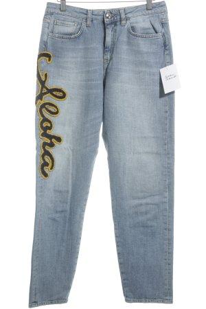 Pinko Hoge taille jeans veelkleurig straat-mode uitstraling