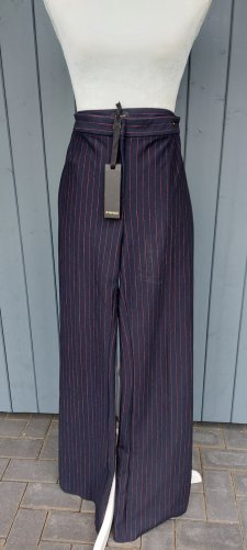 Pinko Pantalón tipo suéter negro-lila