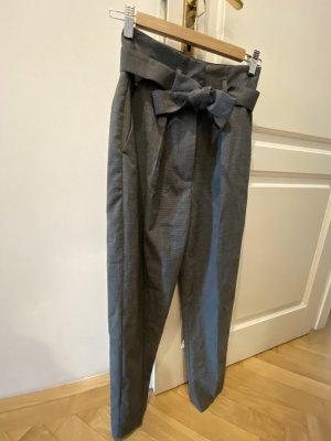 Pinko Pantalone a pieghe grigio-antracite