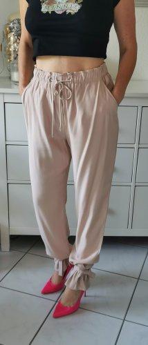 Pinko Pantalon large vieux rose