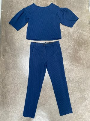 Pinko Tailleur pantalone nero-blu scuro