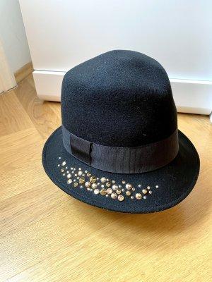 Pinko Sombrero de lana negro
