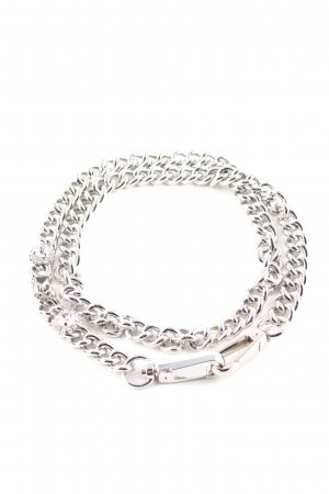 Pinko Chain Belt silver-colored elegant