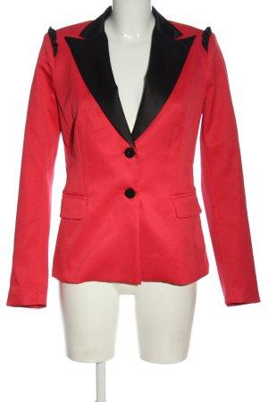 Pinko Klassischer Blazer czerwony-czarny W stylu biznesowym