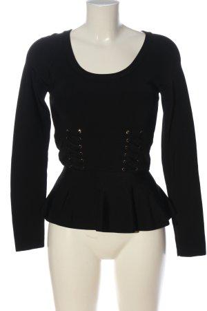 Pinko Langarm-Bluse schwarz Casual-Look
