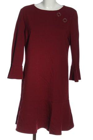 Pinko Sukienka z długim rękawem czerwony W stylu casual