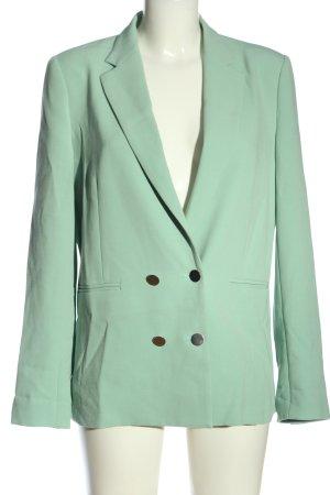 Pinko Long-Blazer grün Business-Look