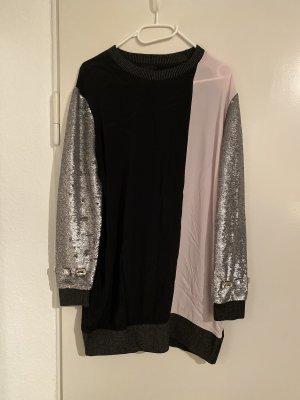 Pinko Materialmix Pulli-Kleid