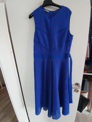 Pinko Midikleid gestrickt blau