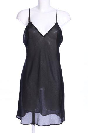 Pinko Minikleid schwarz extravaganter Stil