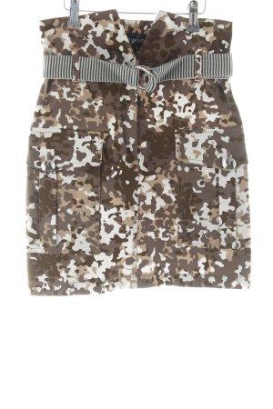 Pinko Minirock Camouflagemuster Casual-Look