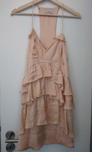 Pinko Flounce Dress nude-pink