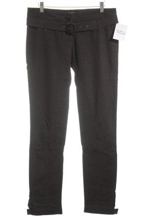 Pinko Pantalón de equitación gris antracita estilo jinete