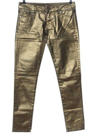 Pinko Jeans a sigaretta oro stile casual