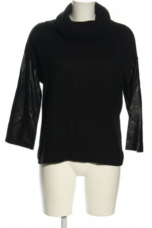 Pinko Turtleneck Sweater black casual look