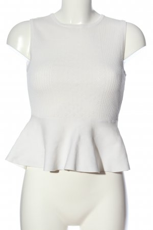 Pinko Peplum Top white