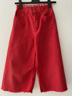 Pinko Jeans taille haute rouge