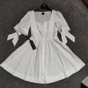 PINKO Sommerkleid weiß 38 40 42 neu