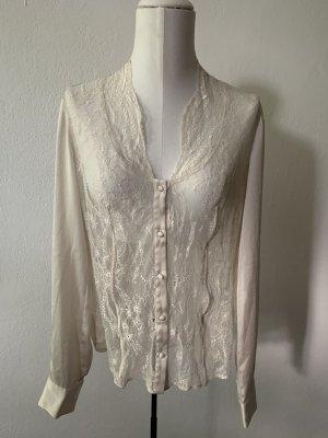 Pinko Blusa in merletto crema-bianco sporco