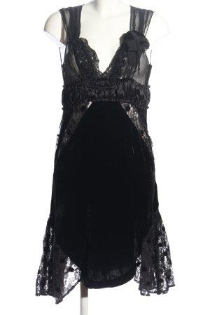 Pinko Spitzenkleid schwarz Elegant