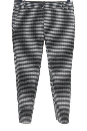 Pinko Jersey Pants black-white check pattern casual look
