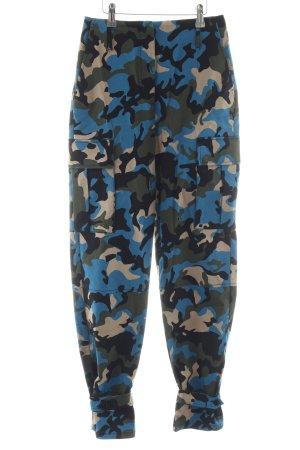 Pinko Stoffhose Camouflagemuster Casual-Look