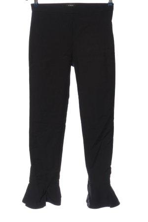 Pinko Pantalon en jersey noir style décontracté