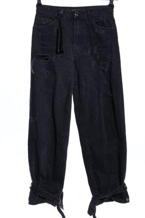 Pinko Straight-Leg Jeans schwarz Casual-Look