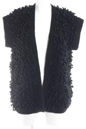 Pinko Giacca in maglia nero